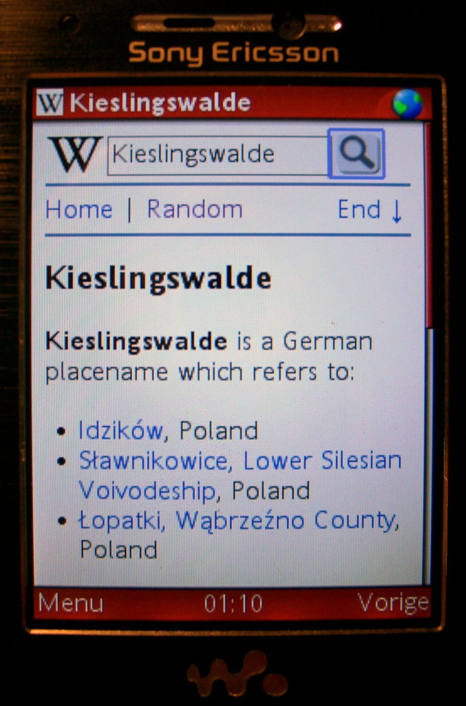 Screen of a cell phone Description automatically generated