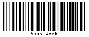 example of a address barcode