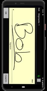 Chain of Custody Signature Capture App